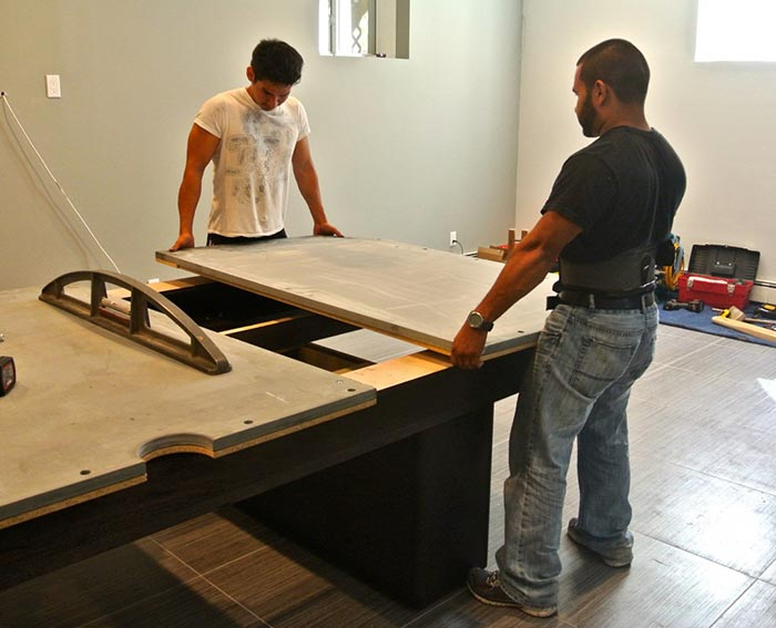 How To Move A Pool Table Without Taking It Apart
